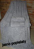 narzuta na kanapę sofę łożko  ala karakuł 160x200