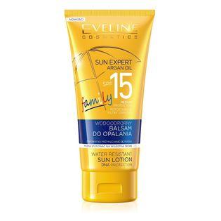 Eveline Cosmetics Sun Expert Spf15 Wodoodporny Balsam Do Opalania 150Ml