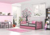 Łóżko dla dzieci MIKOŁAJ COLOR 160x80  szuflada + materac zdjęcie 7