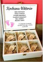 Pudełko Wspomnień PREZENT chrzest urodziny dziecko