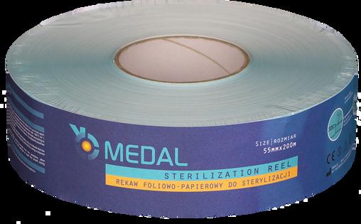 Rękaw do sterylizacji 5,5cm x 200m Medal