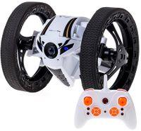Dron Robot Bounce Car Jeździ Skacze Świeci Biały Z263B