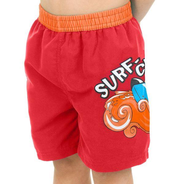 Szorty pływackie SURF-CLUB Kolor - Stroje męskie - Surf-club - 31 - czerwony, Rozmiar - Stroje dziecięce - 122 (6A) zdjęcie 2