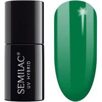 Semilac 631 Blooming Effect Green 7ml - kolorowy lakier hybrydowy do zdobień