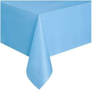 """Obrus foliowy """"Classic"""", błękitny, Unique, 137x274 cm"""