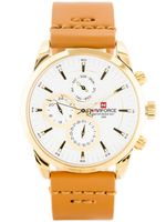 ZEGAREK MĘSKI NAVIFORCE - NF9148 (zn085b) gold + BOX