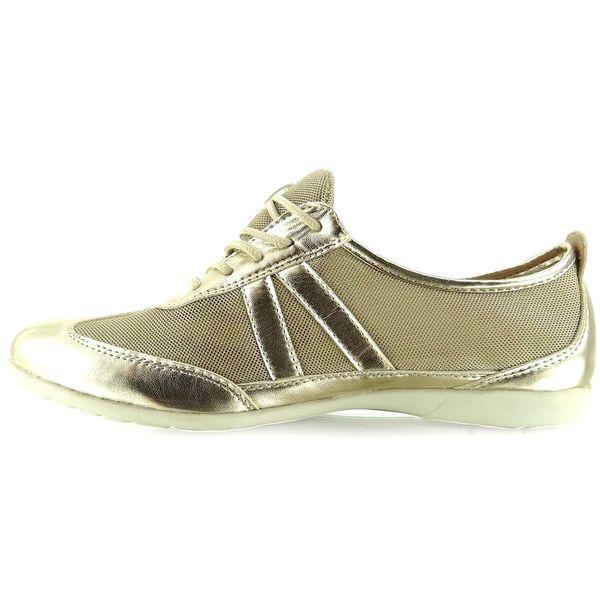 Metaliczne buty w sportowym stylu Y629 Gold