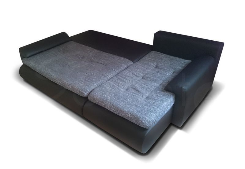 Narożnik Santi II w materiale zmywalnym - kanapa, sofa, łóżko, rogówka zdjęcie 8