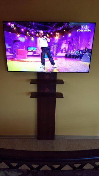 MASKOWNICA LCD TV OSŁONA KABLI PÓŁKA POD TV zdjęcie 1