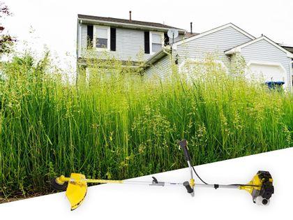 Kosa spalinowa GardeTech GTLE-5217 3KM idealna do koszenia wysokiej trawy a także cięcia krzewów i zarośli