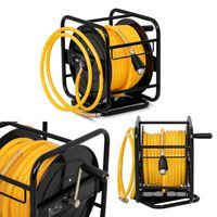 Wąż pneumatyczny - zwijacz - 30 m + 2 m MSW PRO-A 30