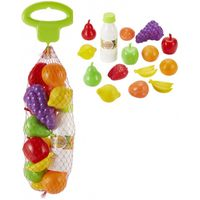 Ecoiffier Zestaw Produktów Spożywczych Owoce Warzywa w Siatce