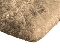 Shaggy dywanik łazienkowy pluszowy wysoki 60x90 capuccino