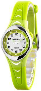 Xonix Mały wskazówkowy zegarek, model damski sportowy, podświetlenie, WR 100M