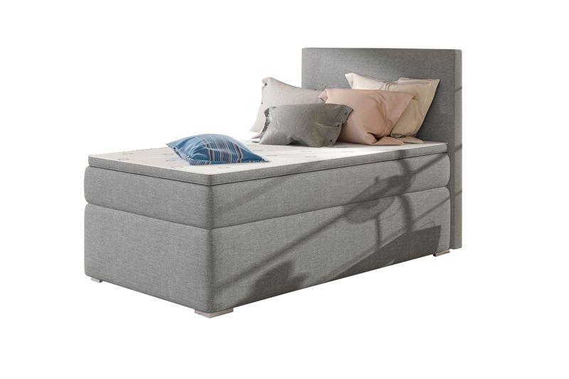 łóżko Rocco 90x200 Hotelowe Z Materacem Pojemnik Kontynentalne Ribes
