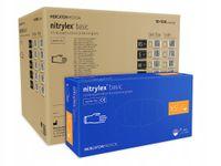 Rękawice nitrylowe nitrylex basic XS karton 10 x 100 szt