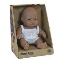 Lalka chłopiec Hiszpan 21cm Miniland Baby