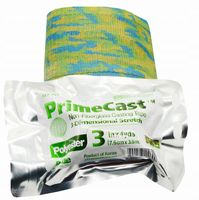 Lekki gips syntetyczny Prime Cast 7,6cm x 3,6m zielone moro