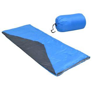 Lumarko Lekki śpiwór prostokątny, niebieski, 1100 g, 10°C!