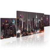 Obraz - Nowy Jork: wieżowce Rozmiar - 100x30
