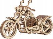 Motocykl Mechaniczne Puzzle 3D Drewniane Wooden City zdjęcie 1