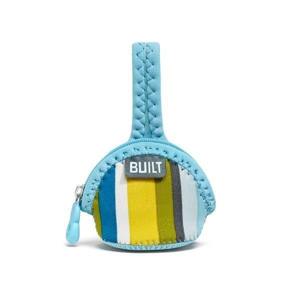 BUILT Paci-Finder - Pokrowiec na smoczek (Baby Blue Stripe) zdjęcie 1