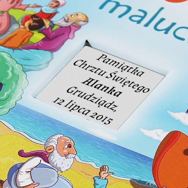 OBSERWUJ Biblia malucha PREZENT dla dziecka Chrzest GRAWER zdjęcie 5