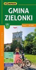 Mapa turystyczna - Gmina Zielonki 1:20 000 praca zbiorowa