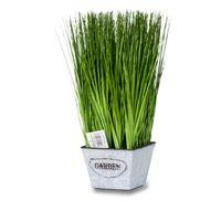 Sztuczna trawa pionowa w donicy Grass 38 cm I TR-GSMP-038-I