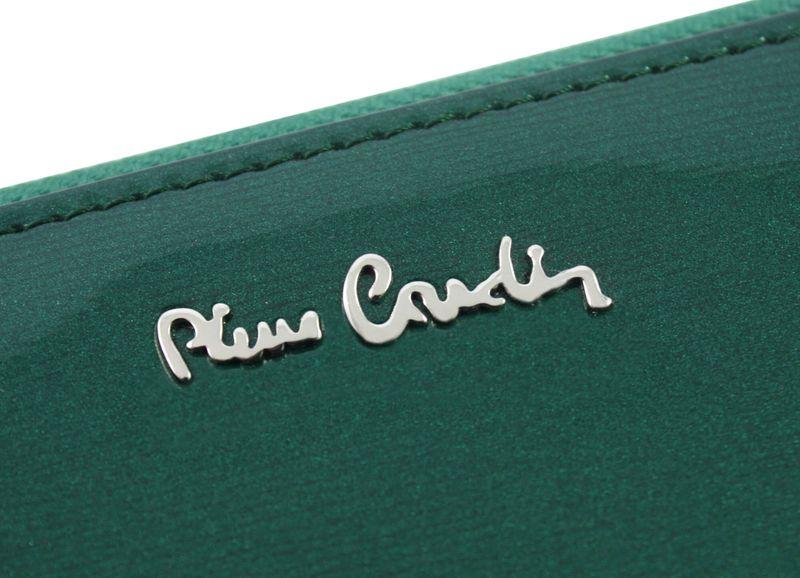 Saszetka podwójna damska Pierre Cardin, kolor zielony zdjęcie 9