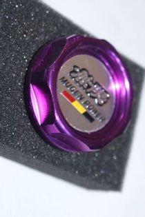 Aluminiowy korek wlewu oleju Honda Mugen Purple