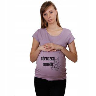 Koszulka ciążowa Córeczka tatusia dla Mam t-shirt