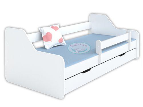 Łóżko dla dzieci DIONE 160x80 - białe na Arena.pl