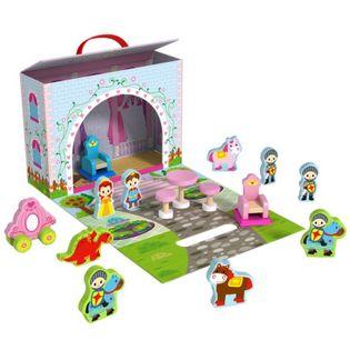 Tooky Toy Opowieść Księżniczki Pudełko Teatrzyk