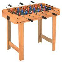 Lumarko Mini stół do piłkarzyków, 69 x 37 x 62 cm, klon