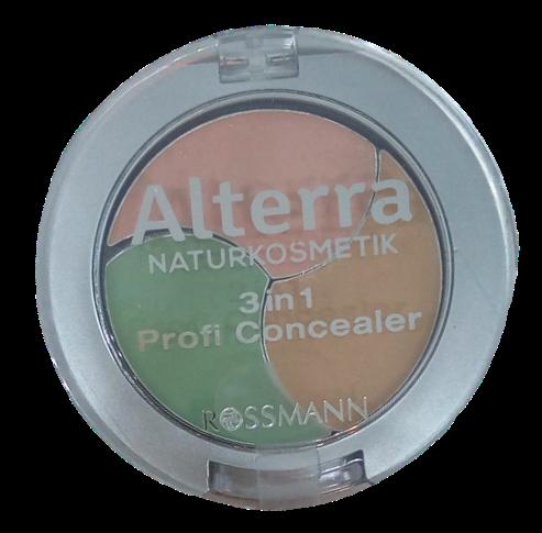 Alterra 3w1 potrójny korektor do makijażu na Arena.pl