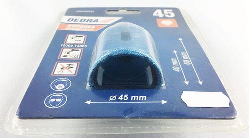 Otwornica wiertło koronka diamentowa M14 (45 mm) na Arena.pl