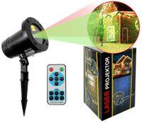 Projektor laserowy z pilotem