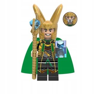 MEGA figurka avengers Loki z Thor +karta lego PL