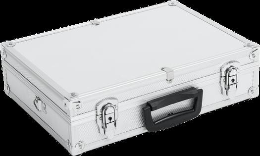 Walizka aluminiowa średnia - 430x310x110 mm