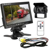 Monitor 7 cali 12/24V Bus Tir Inne + Kamera cofania Zestaw
