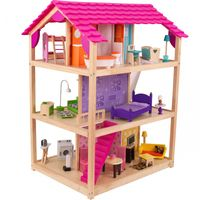KidKraft Duży Drewniany Domek Dla Lalek So Chic