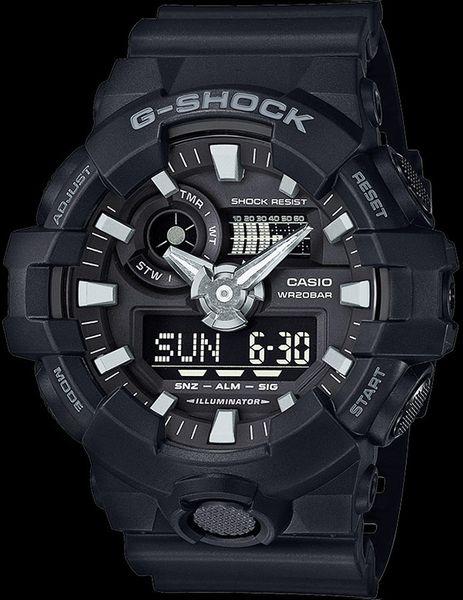 Zegarek męski Casio G-SHOCK GA-700-1BER zdjęcie 2