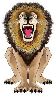 "Latawiec BRAINSTORM - WNS SkyZoo 44x25"" Nylon Lion"