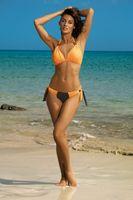 Kostium Kąpielowy Roxie Seppia-Paperino M-326 Pomarańcza Z Czekoladą (105) Rozmiar M