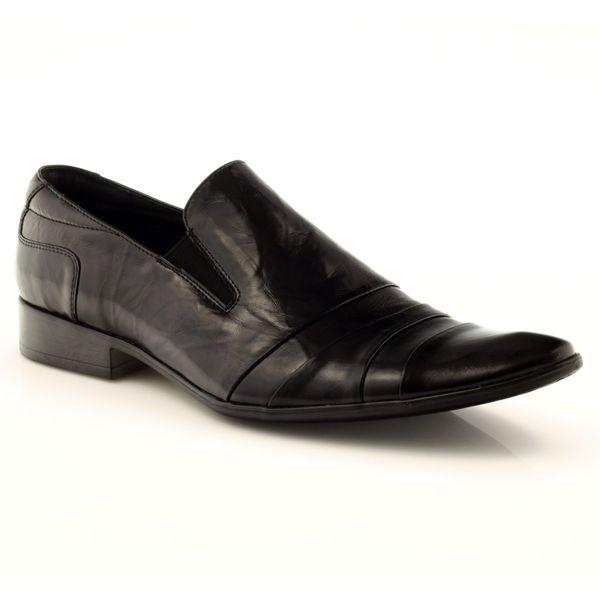 341a74c8f8a21 Półbuty buty męskie mokasyny 5026 czarne r.40 • Arena.pl