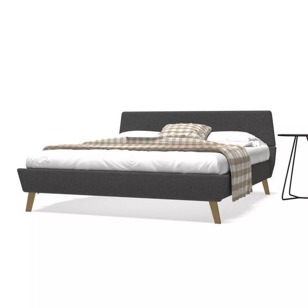 łóżko Rama łóżka Ze Stelażem Drewniana 160x200