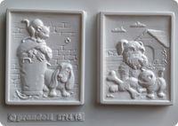 Forma do odlewów - Odlewy gipsowe - Obrazki Pieski (2714018)