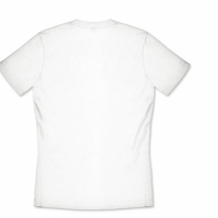 ARENA KOSZULKA MAN TRENING  T-SHIRT TEAM ICONS WHITE-WHITE-BLACK XXL