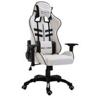 Fotel dla gracza, czarny, sztuczna skóra